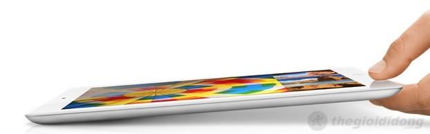 Thiết kế sắc sảo trong  một tổng thể của ipad 4