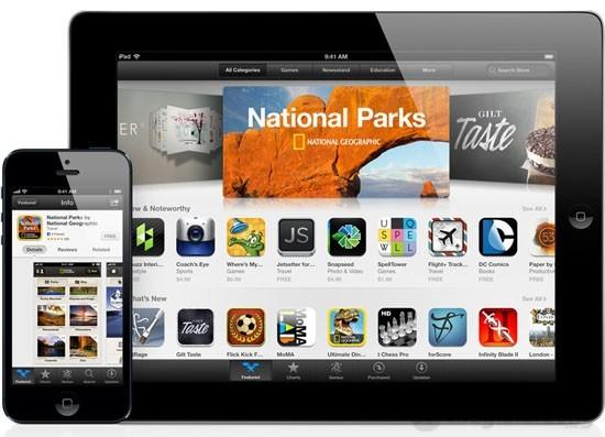 iPad Mini Wifi Cellular 32Gb có sẵn App Store với số ứng dụng phong phú