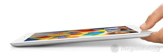 iPad 4 Wifi Cellular 32Gb thiết kế sắc sảo trong một tổng thể khung máy mỏng chỉ 9,7 mm