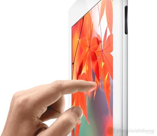 iPad 4 Wifi Cellular 32Gb với màn hình hiển thị rực rỡ và sắc nét ở mọi góc độ