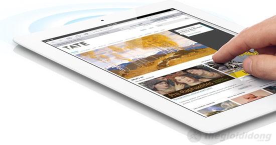 Kết nối không giới hạn với tốc độ truyền tải dữ liệu tối đa trên iPad 4 Wifi Cellular 32Gb