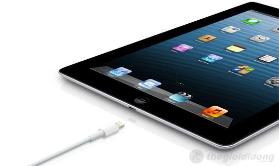 iPad 4 Wifi Cellular 32Gb có cổng kết nối Lightning – Nhanh và dễ sử dụng hơn bao giờ hết