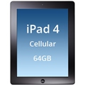 iPad 4 Cellular 64GB/Wifi/3G