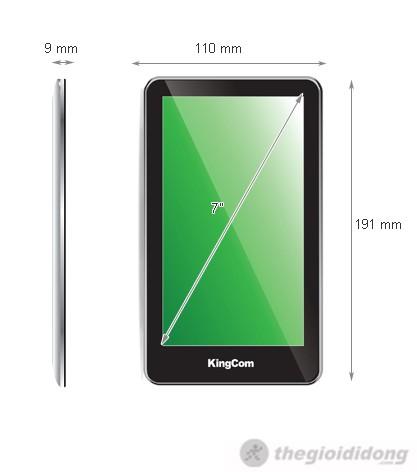 Ảnh kích thước Kingcom Joypad C75