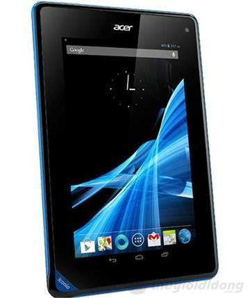 Acer Iconia B1-A71 có màn hình cảm ứng đa điểm 7 inches và camera VGA