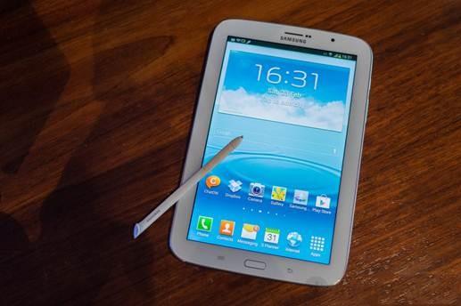 Galaxy Note 8.0 là một trong những mẫu MTB Android có thiết kế rất đẹp