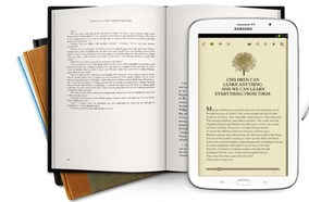 Samsung Galaxy Note 8.0 cho phép trải nghiệm tốt như đang đọc sách