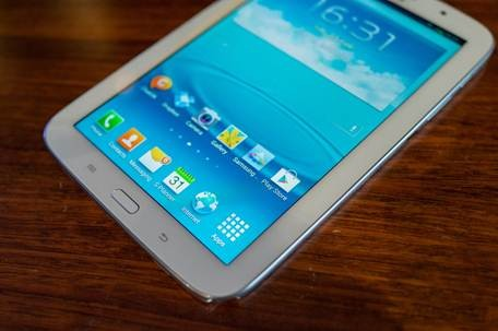 Galaxy Note 8.0 cài sẵn HĐH Android 4.1.2 Jelly Bean