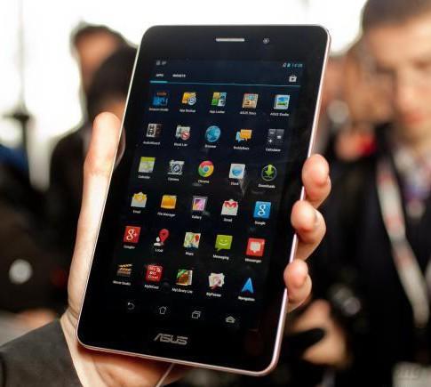 Asus FonePad có màn hình nét, màu sắc trung thực