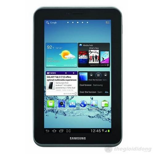 Màn hình 7 inch của Galaxy Tab 2 7.0 thể hiện sắc nét