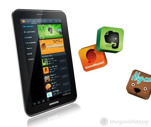 Galaxy Tab 2 7.0 có nhiều ứng dụng đọc sách miễn phí