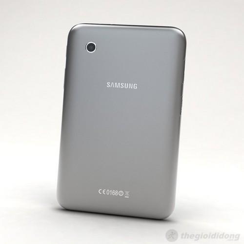 Mặt sau Galaxy Tab 2 7.0 với camera 3.1MP