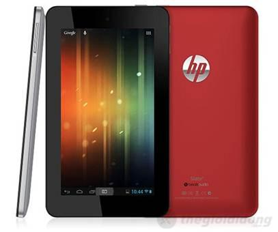 HP Slate 7 có thiết kế khá nổi bật