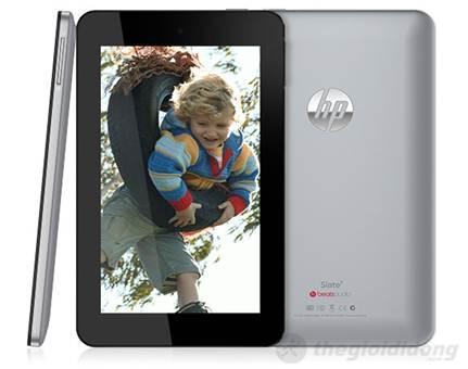 HP Slate 7 sử dụng chip A9 với xung nhịp lên tới 1.6 GHz