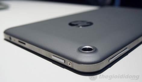 HP Slate 7 được hỗ trợ camera sau 3 MP