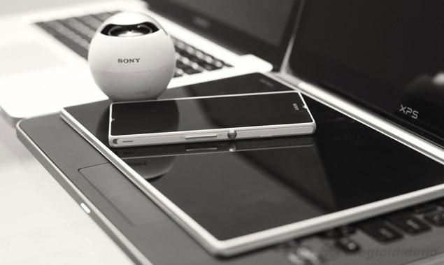 Sony Tablet Z có thiết kế giống smartphone Xperia Z