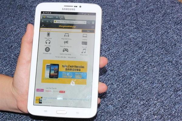 Galaxy Tab 3 với thiết kế truyền thống