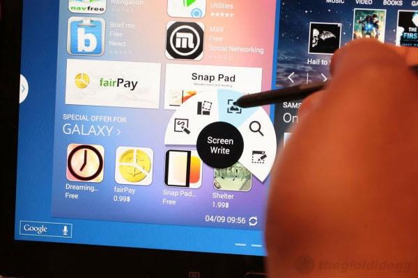 S Pen được Samsung thiết kế thuận tiện và thân thiện hơn