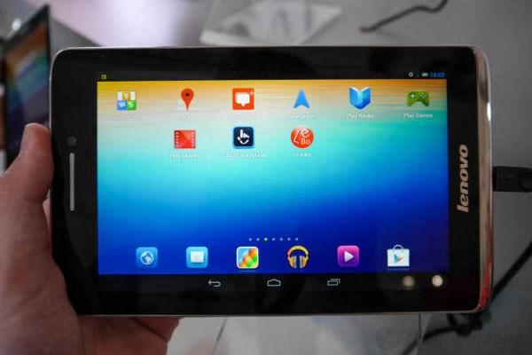 Xử lý mọi nhu cầu giải trí với chip lõi tứ trên Lenovo Idea Tab S5000
