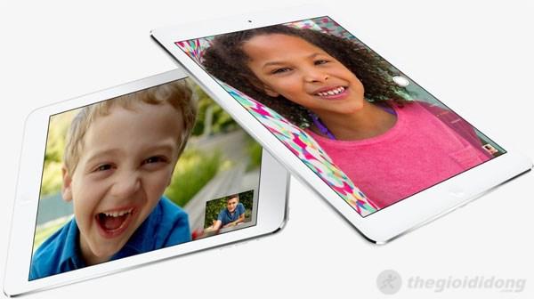 Camera của iPad Air cho hình ảnh chất lượng cao