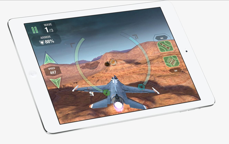 Chơi game mượt mà với vi xử lý Apple A7 cực kỳ mạnh mẽ