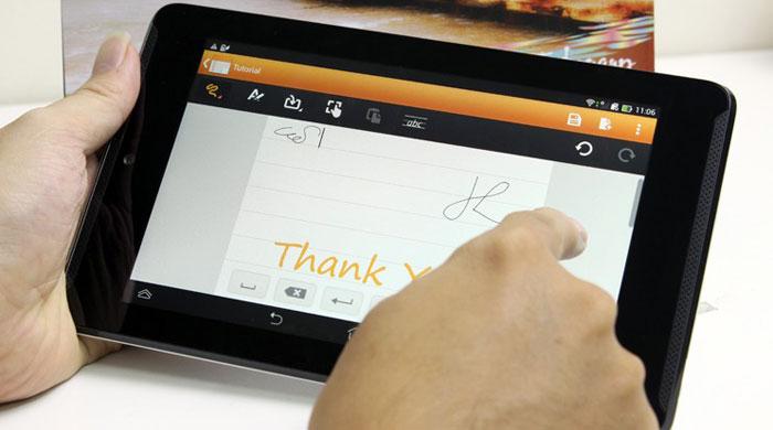 ứng dụng trên Asus FonePad