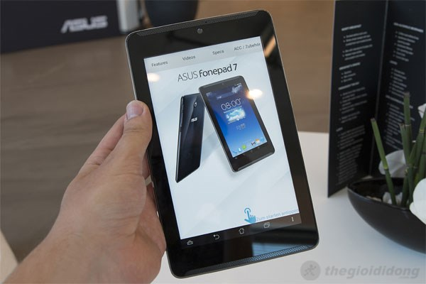 Asus Fonepad 7, chiếc tablet lai smartphone