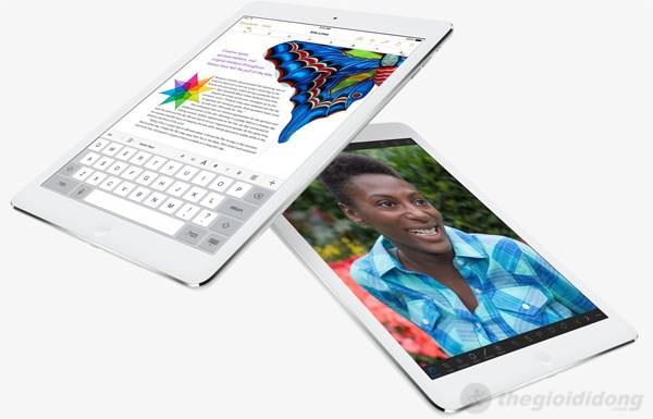 Bàn phím được bố trí tốt hơn trên iPad Air