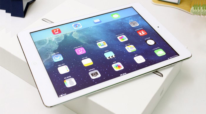 iPad Air Cellular Screen