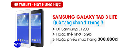 Samsung Galaxy Tab 3 Lite Wifi/8GB (T110)