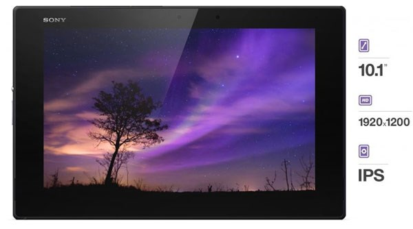 Sony Xperia Tablet Z2 Live colour led, triluminos, x-reality