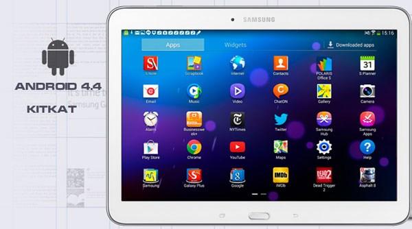 Samsung Galaxy Tab 4 10.1 Android 4.4 Kitkat