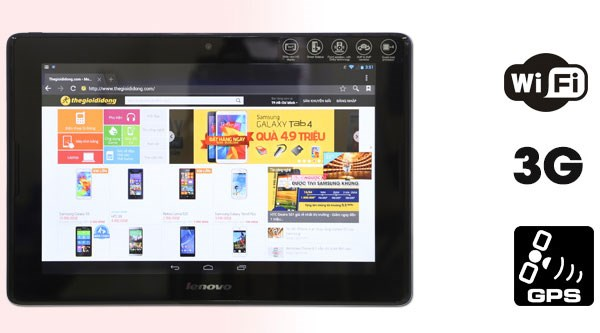 Lenovo IdeaTab A7600 tablet giá rẻ kết nối 3G