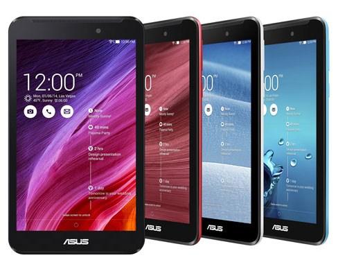 Asus FonePad 7 tablet nhiều màu sắc