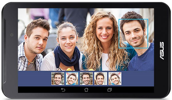 Asus FonePad 7 camera sau 2mp, trước vga, video call