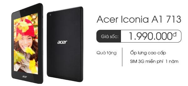 Máy tính bảng Acer Iconia A1-713