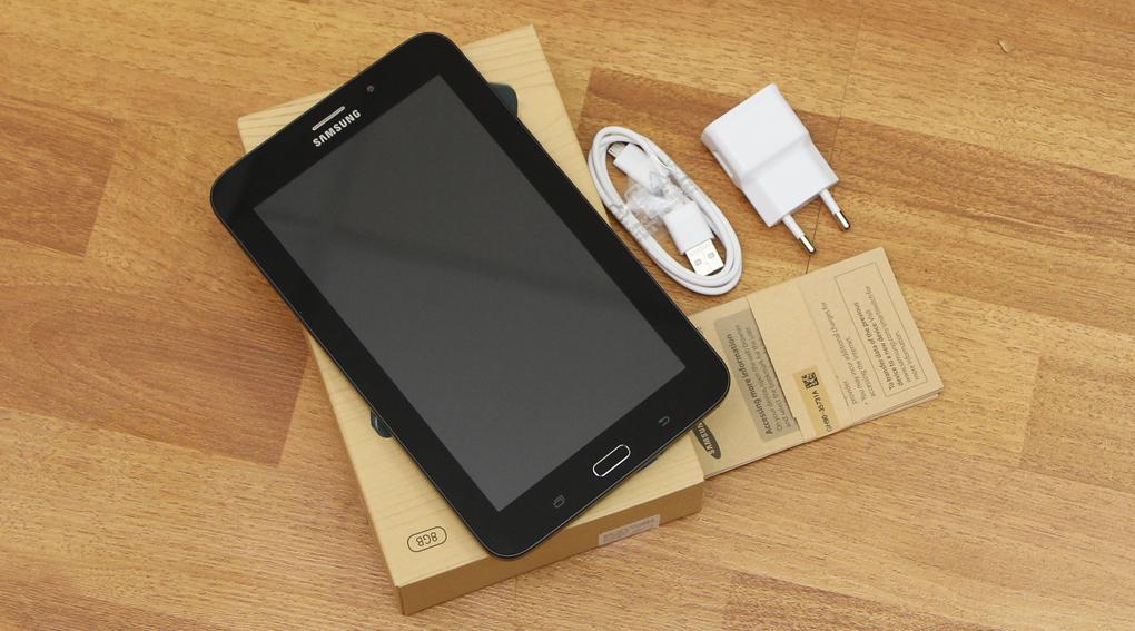 Bộ sản phẩm chuẩn của Samsung Galaxy Tab 3V T116