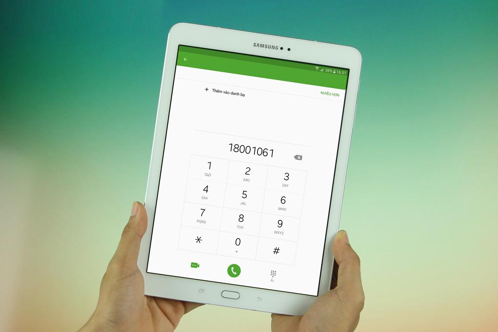 tab s2 có thể nghe gọi như 1 smartphone