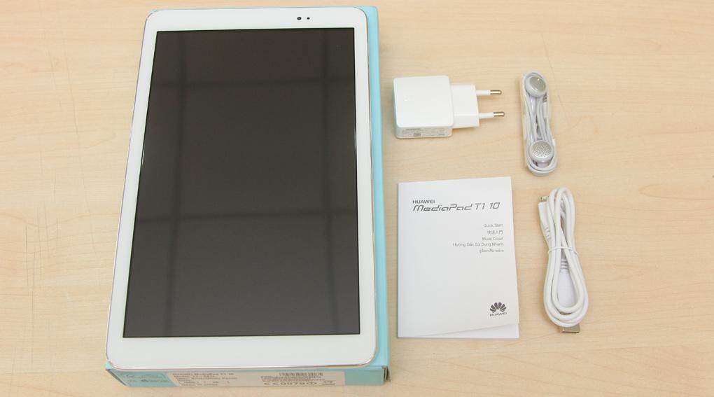 Bộ sản phẩm chuẩn của Huawei MediaPad T1-A21L