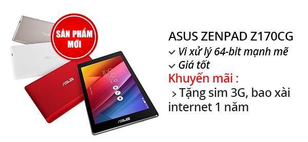 Máy tính bảng ASUS ZenPad C 7.0 (Z170CG)