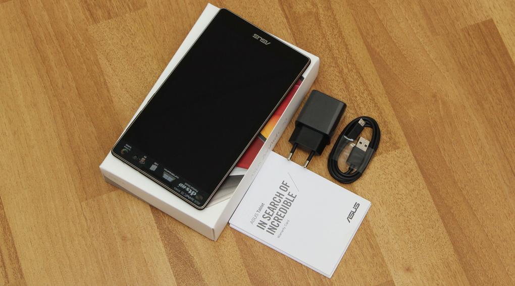 Bộ sản phẩm chuẩn của ASUS ZenPad C 7.0 (Z170CG)