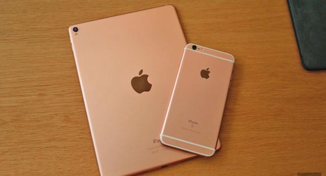 Máy bổ sung sắc hồng đang rất được lòng người dùng kể từ chiếc iPhone 6s