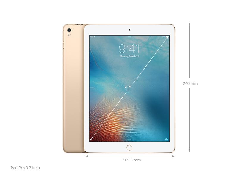 Thông số kỹ thuật Máy tính bảng iPad Pro 9.7 inch Wifi Cellular 32GB