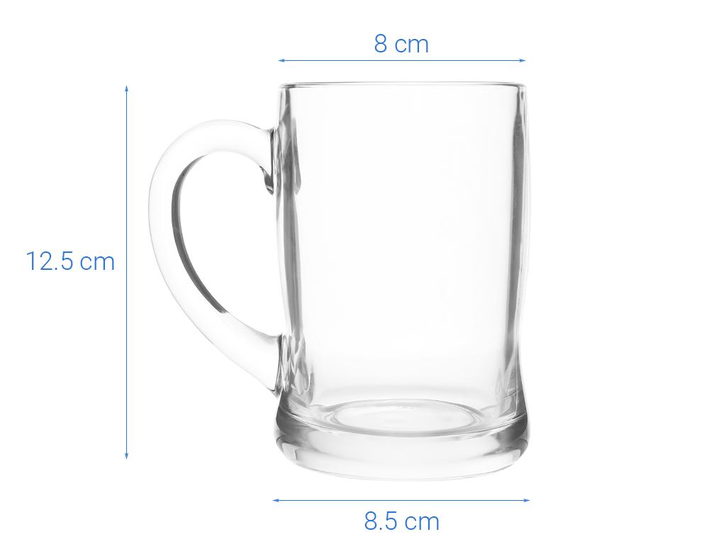 Ly bia thủy tinh 450ml Luminarc Benidorm 6