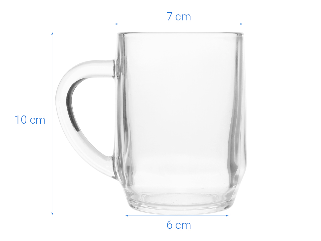 Ly bia thủy tinh 290ml Luminarc Haworth 6