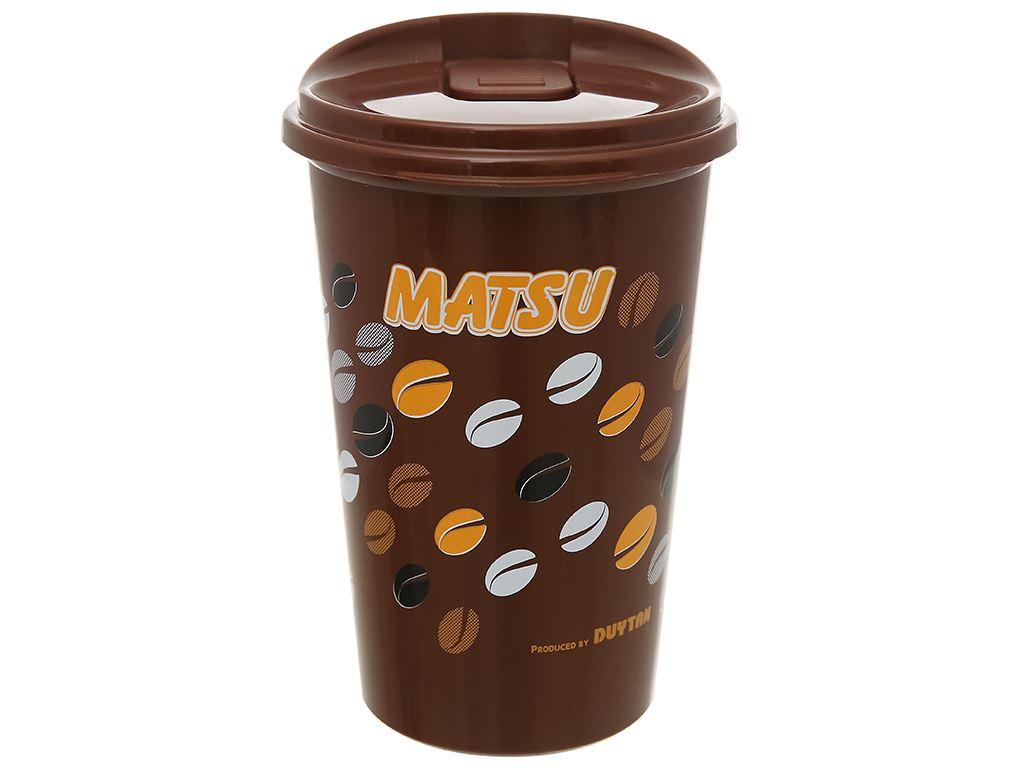 Ly nhựa có nắp Matsu 500ml (giao mẫu ngẫu nhiên) 10