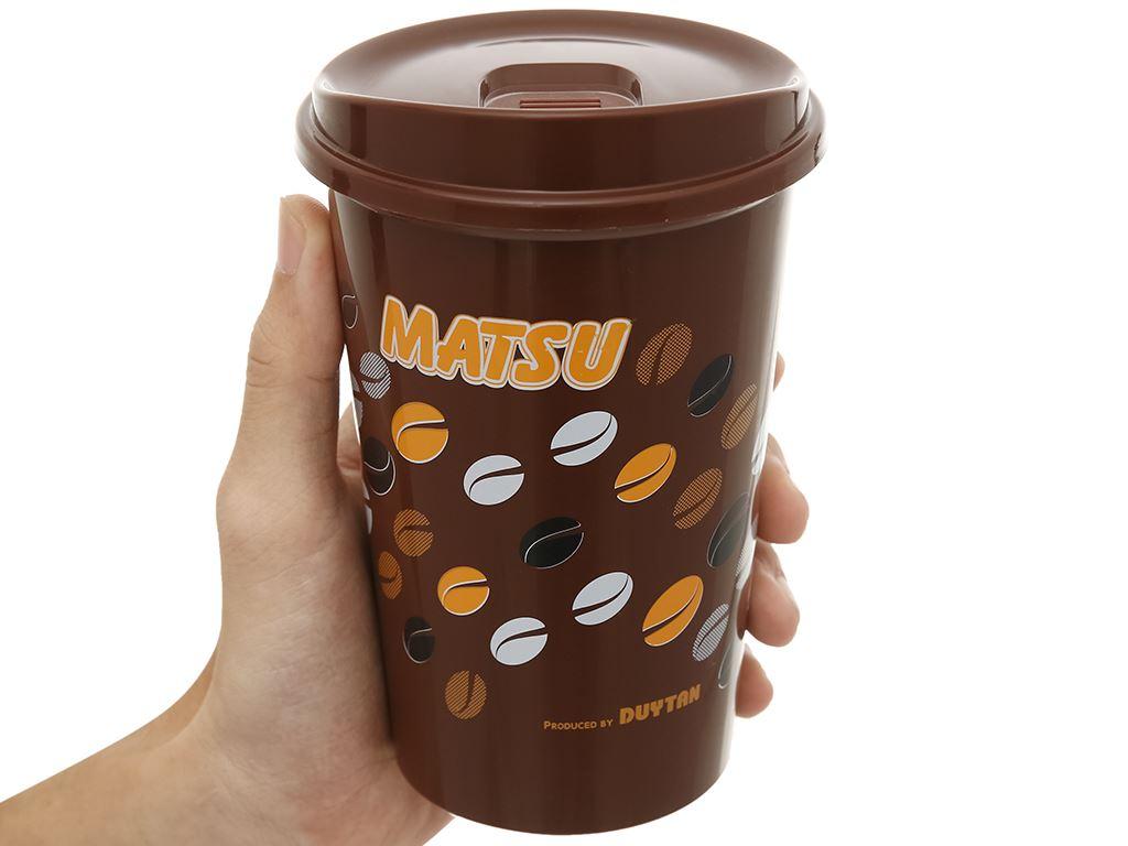 Ly nhựa có nắp 500ml Matsu (giao mẫu ngẫu nhiên) 13