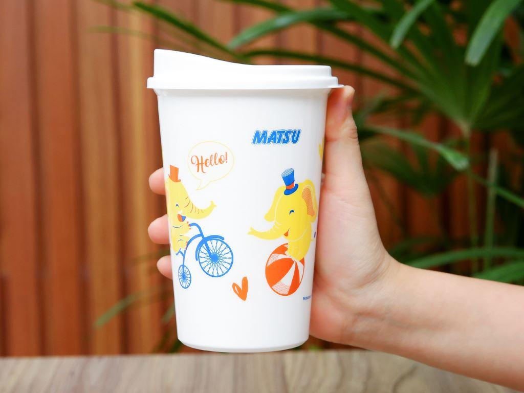 Ly nhựa có nắp 500ml Matsu (giao mẫu ngẫu nhiên) 8
