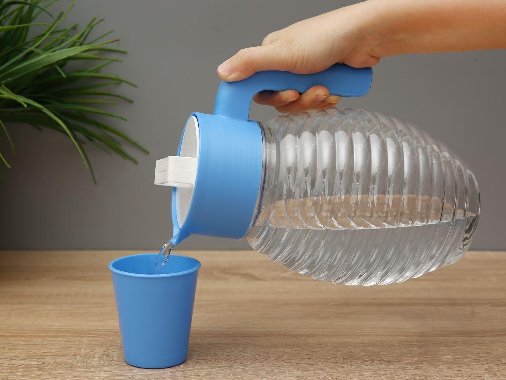 Bộ bình 2.5 lít và 4 ly nhựa Đồng Tâm (giao màu ngẫu nhiên) 4