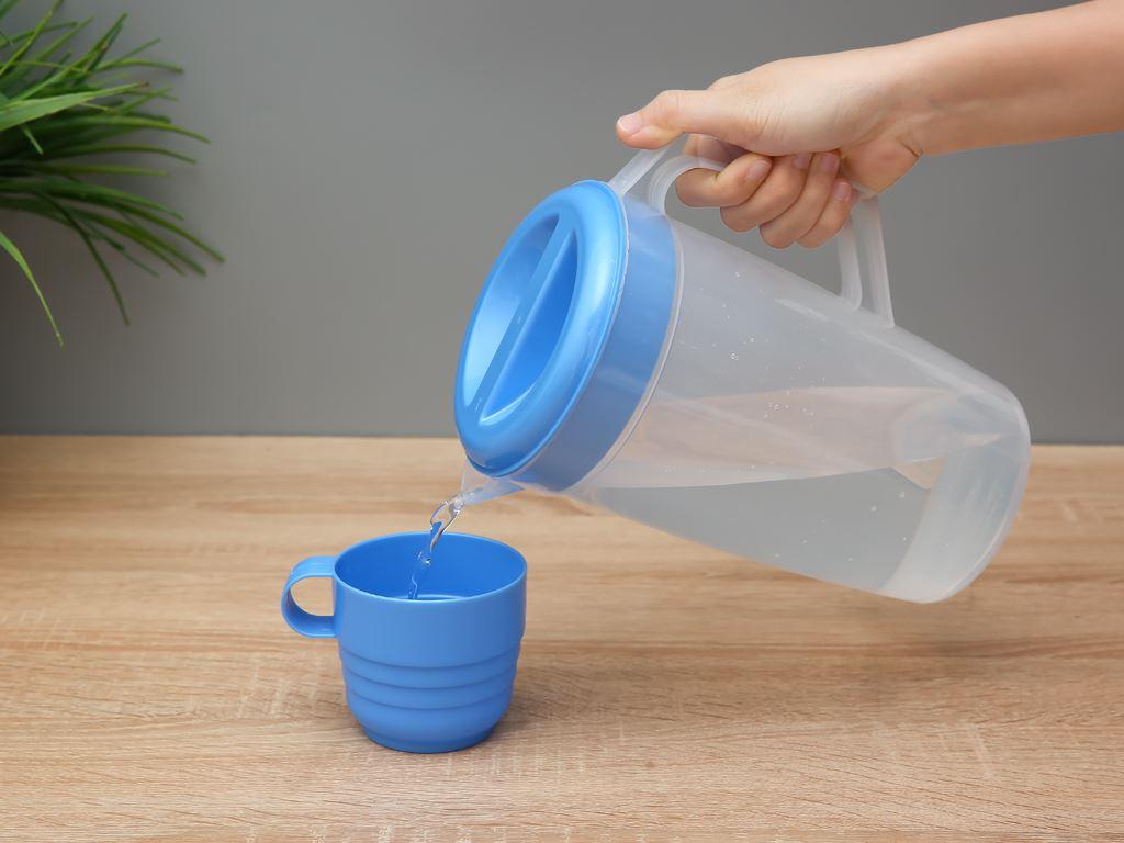 Bộ bình ly nhựa 1.8 lít Đồng Tâm (5 món) (giao màu ngẫu nhiên) 4